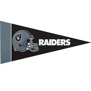 NEW Raiders Mini-Flag Sport Car Wall Decoration 8 PC (4'' x 9'' Inch)