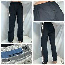 "Novara Cycling Pants L Men Black Waterproof Ankle Zip 31"" Inseam Mint YGI K0-385"