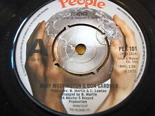 "BABY WASHINGTON & Don Gardner-forever 7"" vinyle"