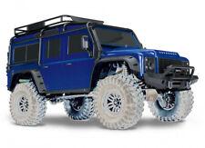 Traxxas TRX-4 Defender Karosserie blau komplett incl Anbauteilen NEU TRX8011Blau