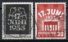 Berlin 110-111 gestempelt, teils geprüft Schlegel BPP, Mi. 40,-