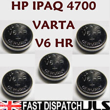 5 x Varta V6HR Backup Batteries  HP IPAQ HX4700