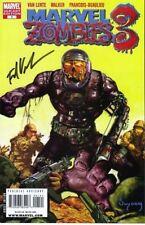 signed variant MARVEL ZOMBIES V3 3 #1 1st print VAN LANTE comic book machine man