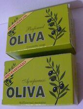 Traditional Greek Olive Oil Green Soap 2 x 125gr Lavender  CRETE ISLAND