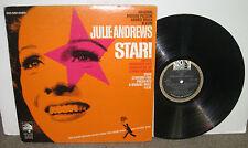 JULIE ANDREWS Star! Original Motion Picture Soundtrack vinyl LP w/book, 1968, VG