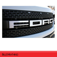 FORD F-150 SVT RAPTOR MATT BRUSHED EMBLEM (LETTERS) - FORD