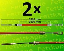 Câble de Frein Compatible avec Alko 299711 Cloche Ø26mm Hl =1020//1230mm