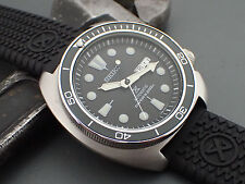 SEIKO NEW TURTLE SRP PLANET.OCEAN.ONE DARK.GUNMETAL ALU. BEZEL INSERT X-3-DG