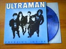 ULTRAMAN Freezing inside US LP NEW RED ARCHIVES BLUE VINYL 1988