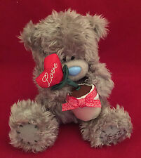 """Me To You Tatty Teddy 10"""" Love Blooms Heart Flower Pot Ours Cadeau"""