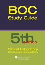 Board of Certification Study Guide for Clinical Laboratory Certification Exam…
