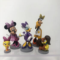 Disney Minnie Mouse Daisy Duck Clarabelle Fifi Bird Figures Cake Toppers