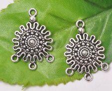 12pcs tibetan silver charm infinite earring connector 26x18mm A3160