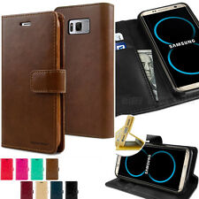 Premium Hard Flip Card Slot Leather wallet Case Cover for Galaxy S8 S9 iPhone 7