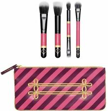Authentic! MAC Nutcracker Sweet Mineralize Brush Set + Cosmetic bag Brand New!