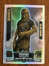 Topps Force Attax Star Wars Karte , Serie 2 ,  LE1 Chewbacca