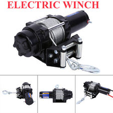 4000lb Pulling 12V Electric Winch with Wireless Remote Control ATV/UTV Trailer