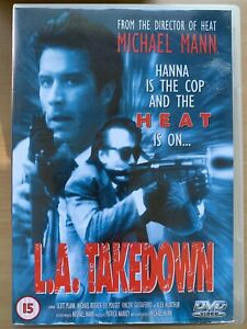 L.A. Takedown DVD 1989 Michael Mann Film that inspired HEAT with Scott Plank