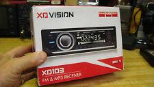 New listing Xo Vision Xd103 Mp3 & Fm Car Receiver 20Watt X4 Usb Port/Sd New In Box
