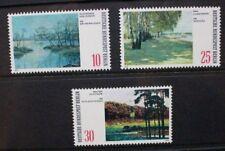 GERMANY BERLIN 1972 Paintings Berlin Lakes. Set of 3 Mint Never Hinged SGB418/20