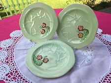 Vintage 3 small Bread and Butter Plates Carltonware GC