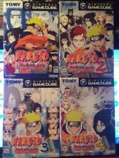 "GAMECUBE: ~ NARUTO 1,2,3 & 4 + F/Loader Disk {Complete & Perfect} ""NTSC"" (Japan)"