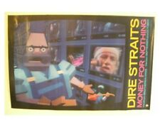 Dire Straits - Money For Nothing Poster MTV 8A The Old