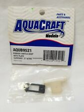 AquaCraft SuperVee 27 Nitro RC Boat Rubber Switch Boot w/Plate AQUB9521