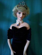 """Diana Porcelain 20"""" Doll by J. Misa"""