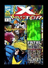 X-FACTOR 92 HOLOGRAM COVER (9.8) FATAL ATTRACTIONS JOE QUESADA MARVEL(b038)