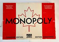 Monopoly - Canadian Edition - Vintage - Parker Brothers