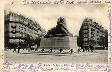 CPA Paris 14e Paris-Le Lion de Belfort (310944)