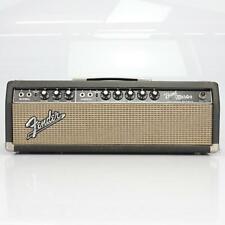1965 Fender Bandmaster AB763 Blackface Tube Amp Head #40457