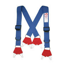 Morning Pride Sp Dfq L Fire Fighting Pant Suspenders48 In L