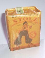 Packung Brinkmanns Stolz Bremen Tabak Bandrole 2 Wk IIWW mit Inhalt