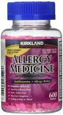 Kirkland Signature Allergy Medicine Diphenhydramine HCI 25 Mg - 600 Count