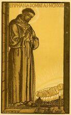 ADOLFO DE CAROLIS,  bella xilografia originale