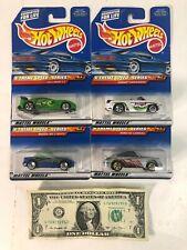 Lot of 4 Hot Wheels Die Cast Cars - Porsche Collector #965 #966 #967 #968