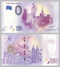 0 Euro Souvenirschein Pope John Paul I