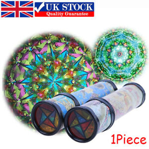 3D 21cm Kaleidoscope Children Toys Kids Educational Science Classic Gifts UK