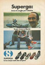 X4632 SUPERGA le tue scarpe scelte dai campioni - Pubblicità 1977 - Advertising