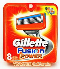 GILLETTE FUSION POWER RAZOR BLADES 8 Cartridges. ***ON SALE***, #004