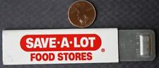 1970-80s Era Save A Lot Food Stores Chain metal box cutter knife-VINTAGE!
