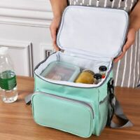 Portable Insulated Thermal Lunch Bag Picnic Travel Lunch Box Tote for Women Men