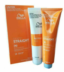 WELLA WELLASTRAIGHT Permanent Straight System Hair Straightening Pack Mild