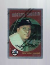 1996 Finest Reprint #9 Mickey Mantle ( 1959 Topps) (C)