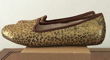 UGG Womens 5.5 Alloway Metallic Leopard Slip On Shoes Flats 1005311 (Youth 3.5