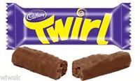 Cadbury Twirl Milk chocolate Twin bars pack of 4 : 8 fingers UK / British recipe