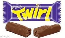 Cadbury Twirl Milk chocolate Twin bars pack of 4 : 8 fingers UK / British recipe