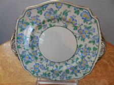 Wedgwood Blue Freya bone china hand painted square handled cake plate S53